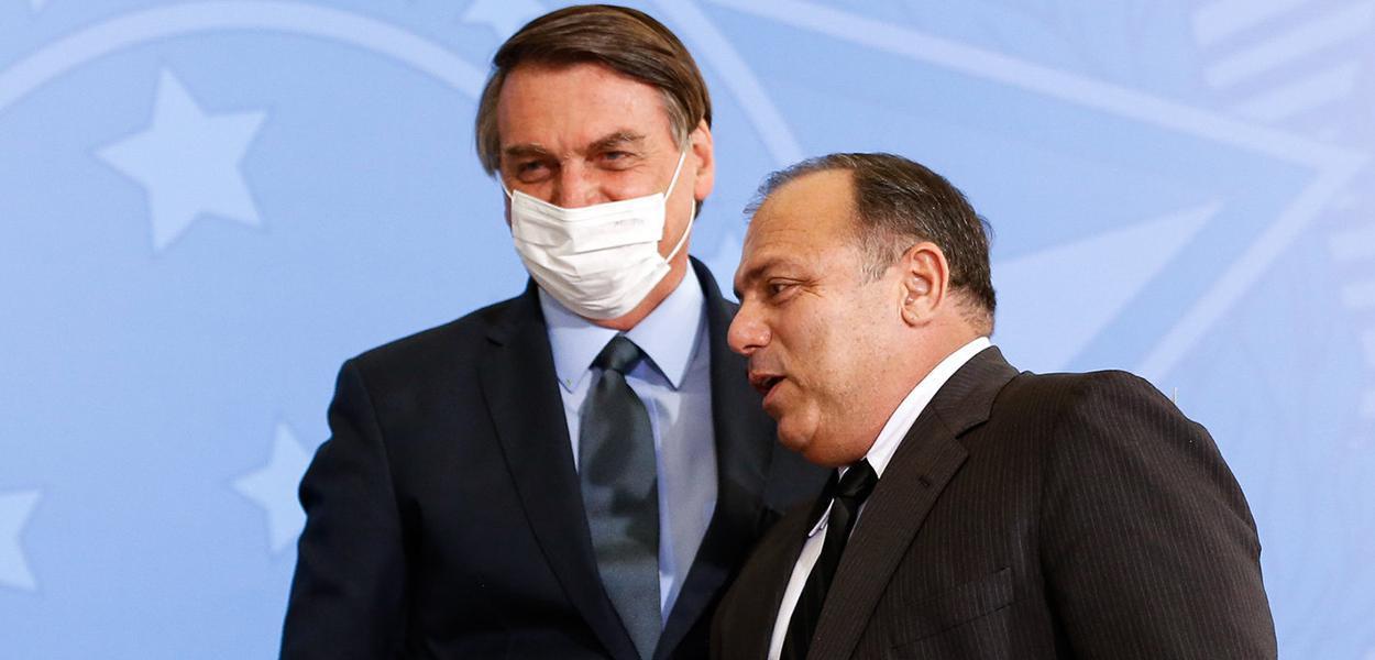 O presidente Bolsonaro e ministro da saúde, Pazuello ainda não entregaram Plano de Imunização contra Covid-19