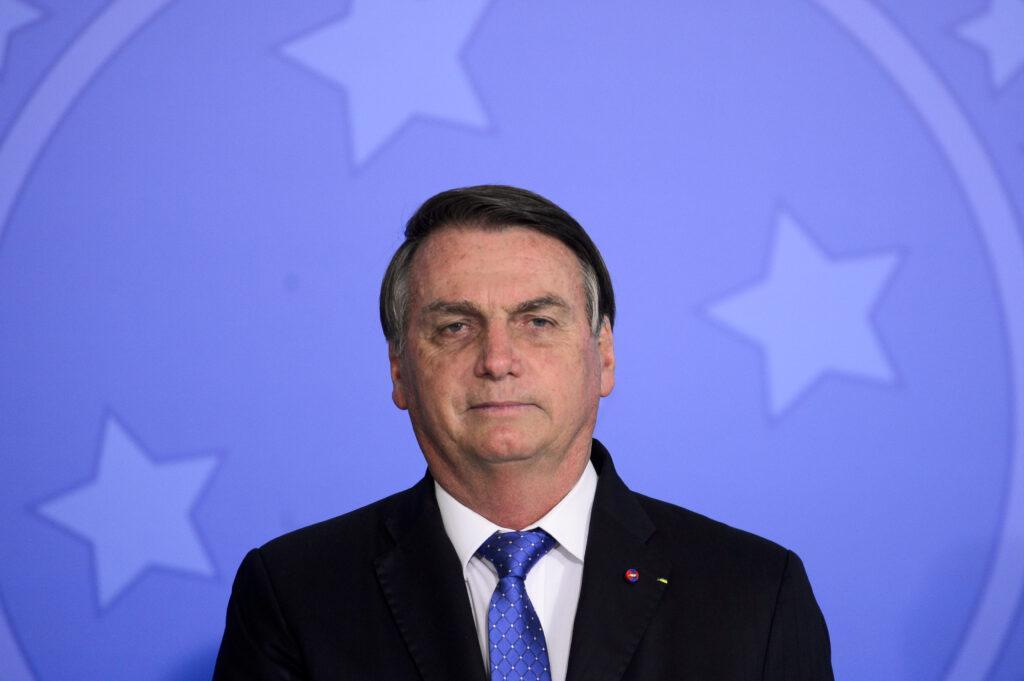 Imagem do presidente Jair Bolsonaro. Segundo Ibope, aprovação do seu governo caiu em sete estados