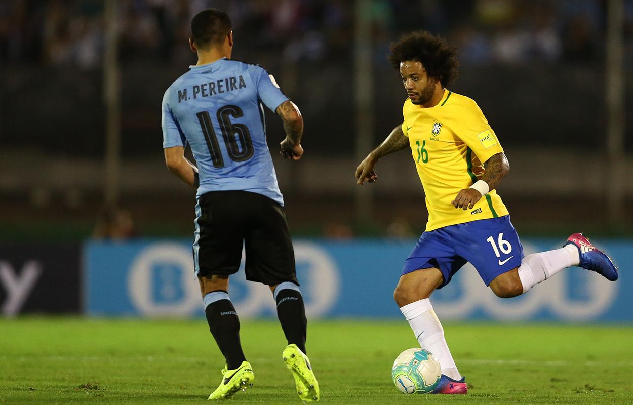 Brasil x Uruguai nas eliminatórias