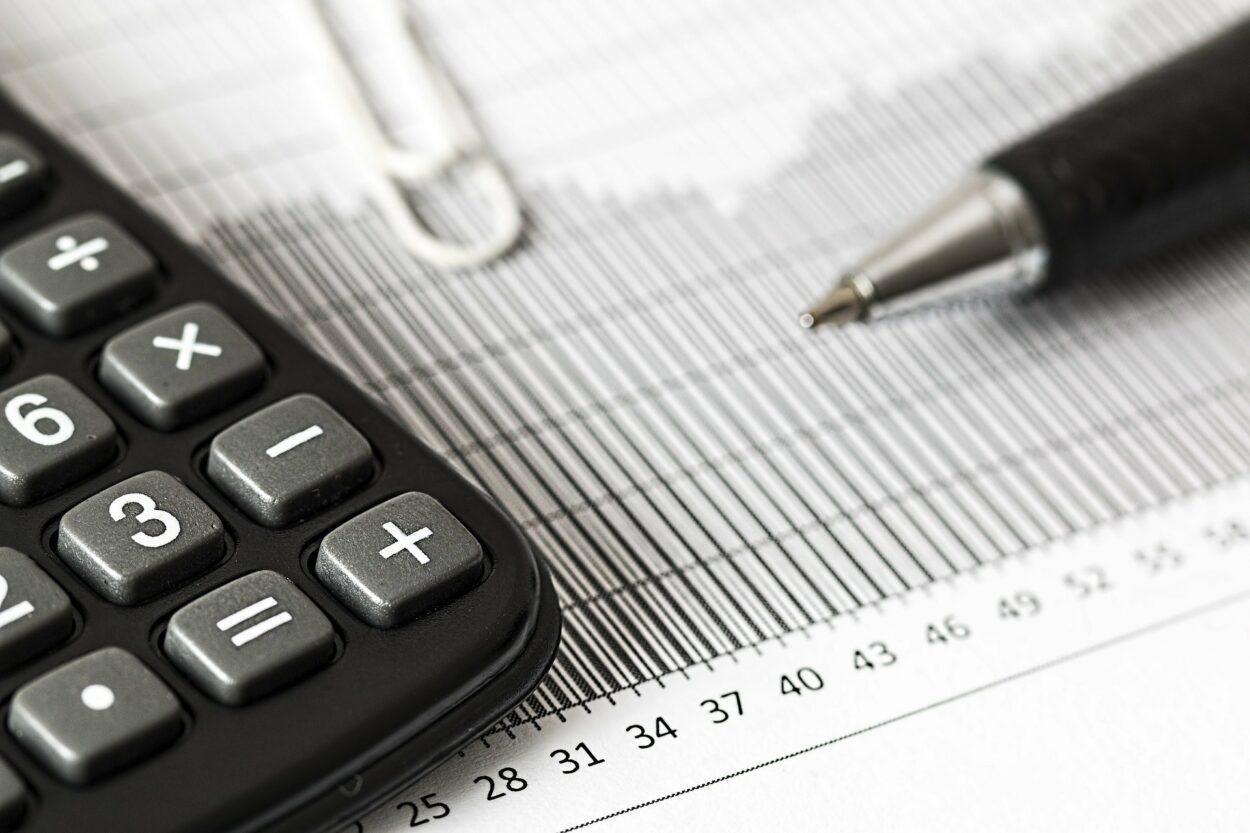 cálculo de impostos; dedução fiscal