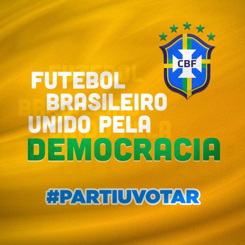 Eleições 2020: veja os times de futebol que estão na campanha #PartiuVotar
