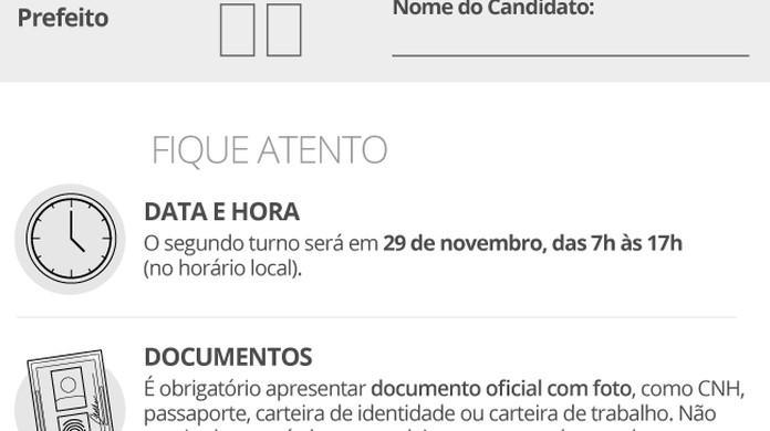 Eleições 2020: colinha eleitoral está liberada ao eleitor que vai votar no 2° turno