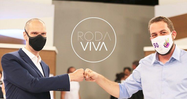 Eleições 2020: Covas e Boulos no programa Roda Viva