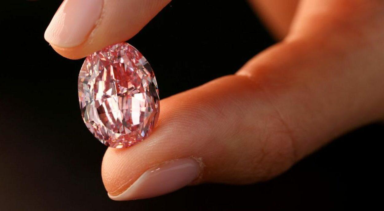 diamante rosa raro