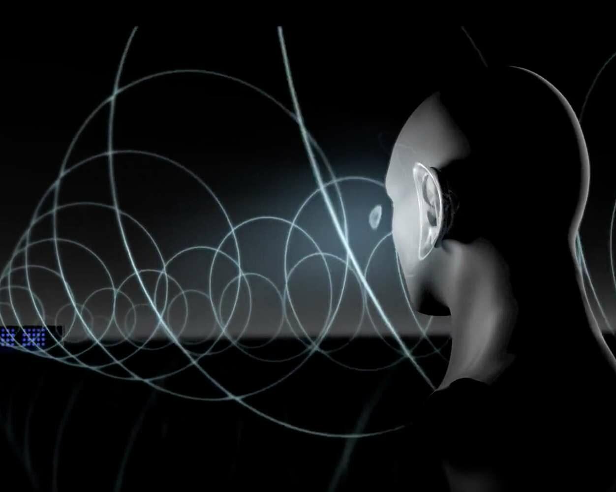dispositivo coloca música na sua cabeça