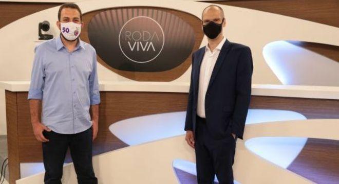 Eleições 2020: Covas e Boulos foram os convidados do programa Roda Viva