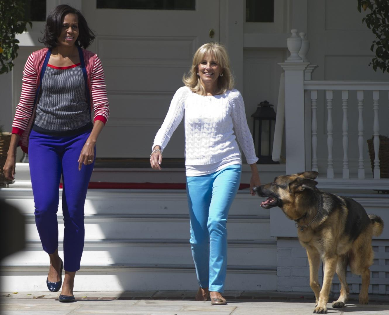 Jill Biden e Michelle Obama