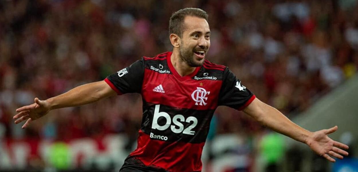 Everton Ribeiro no Flamengo