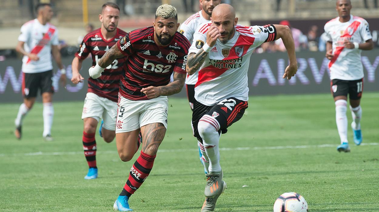 Flamengo x River pela Libertadores
