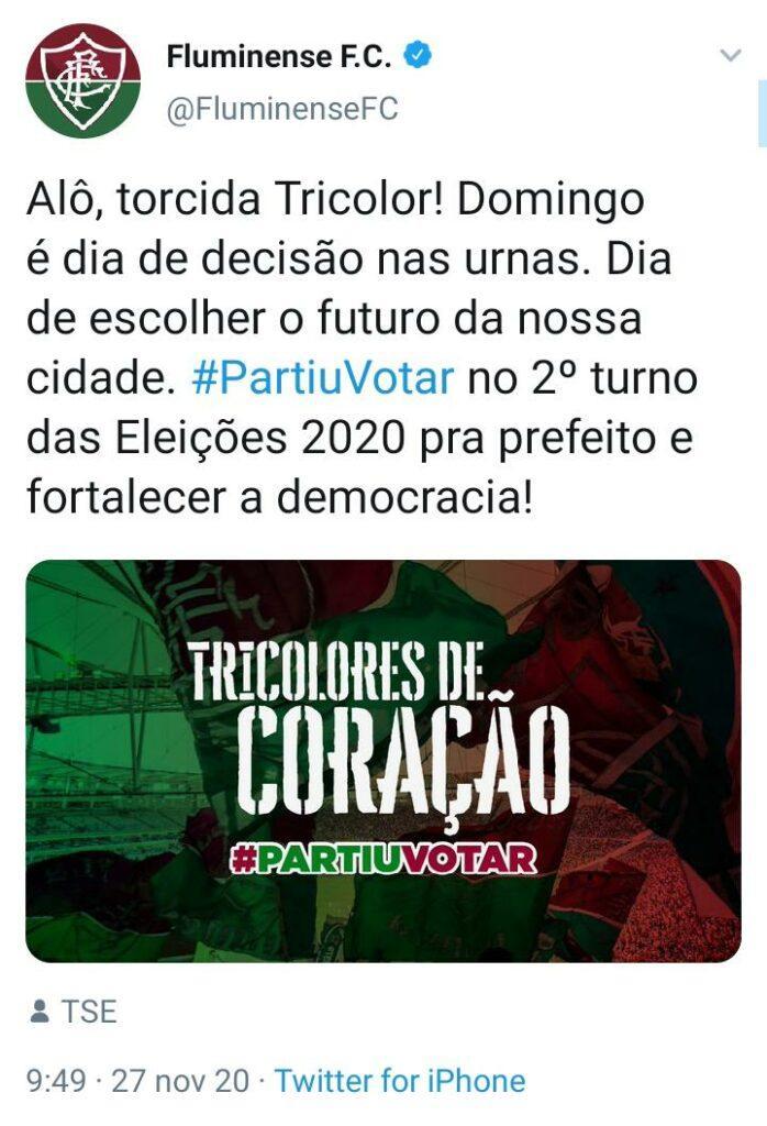 #PartiuVotar nas Eleições 2020