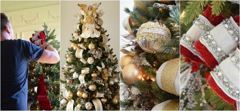 decoração de árvore de natal em 2020