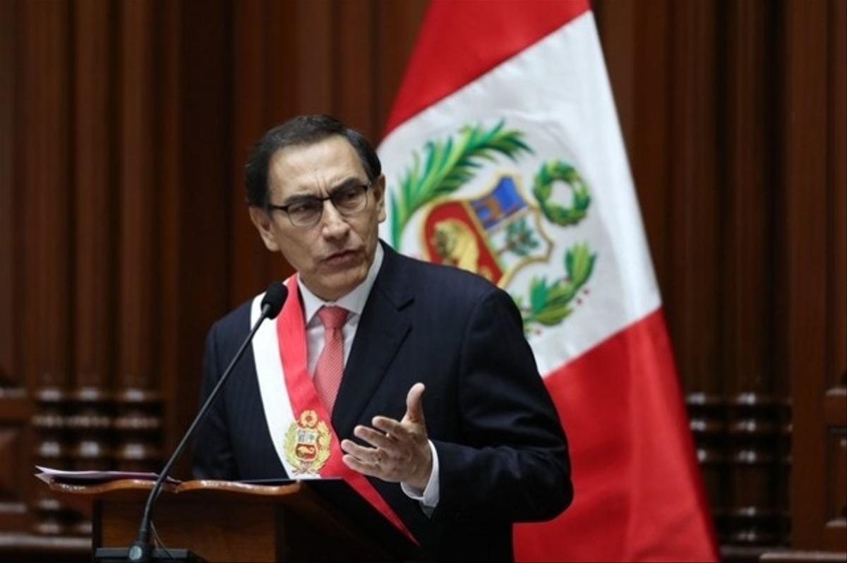 impeachment do presidente Martín Vizcarra