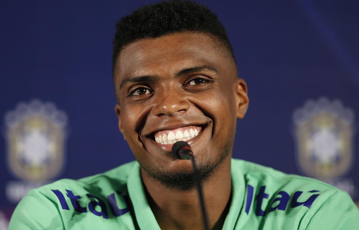 Jemerson, reforço do Corinthians, já jogou na seleção brasileira