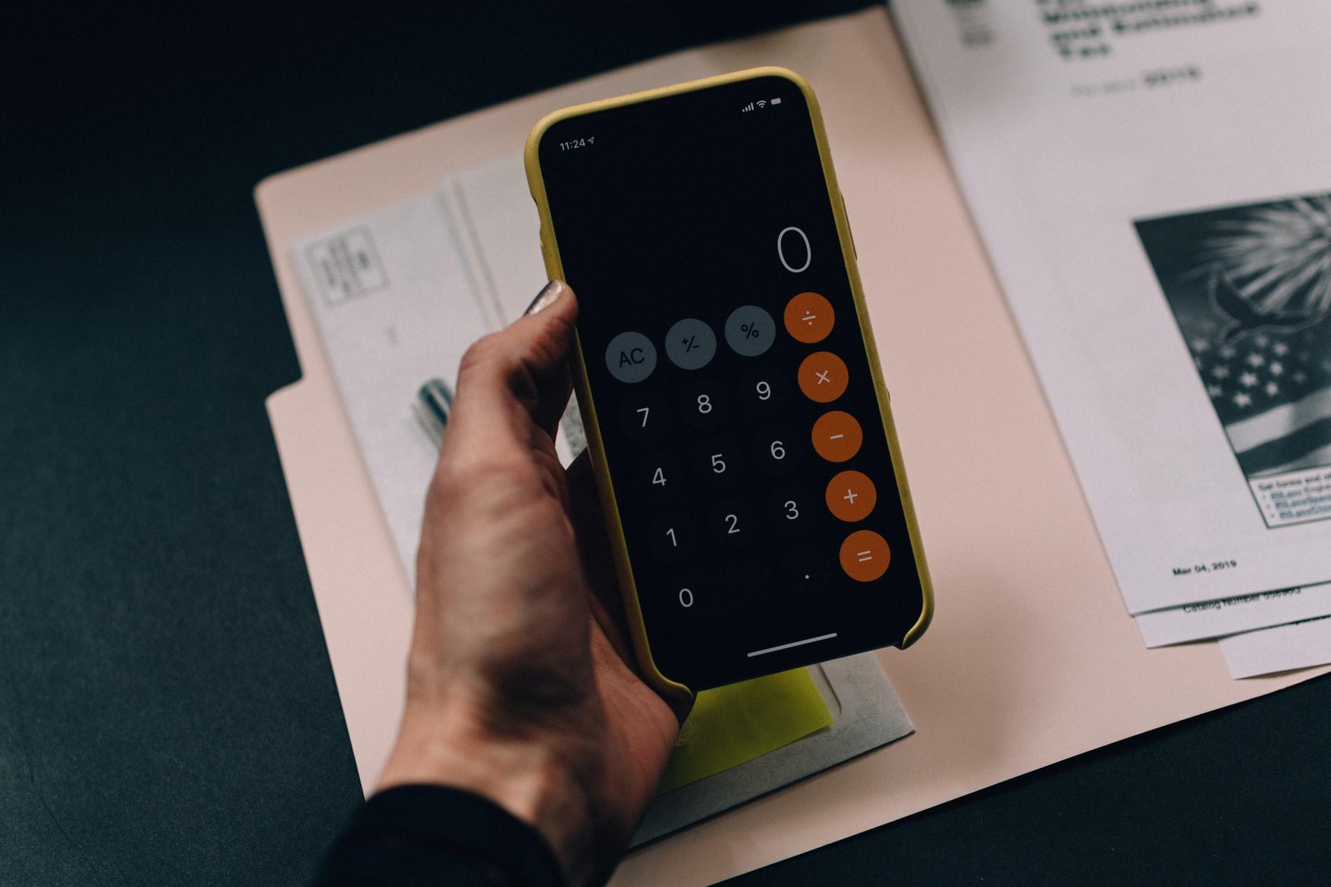 Calculadora do celular
