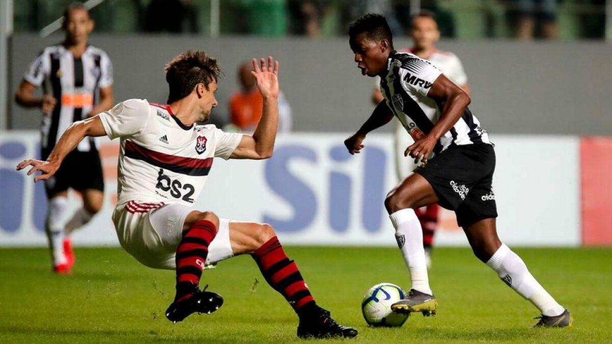 Atlético MG x Flamengo acontece às 18h15, no Mineirão