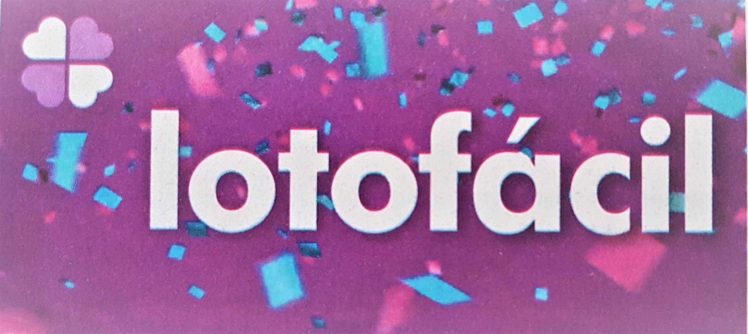 A imagem mostra o logo da lotofacil