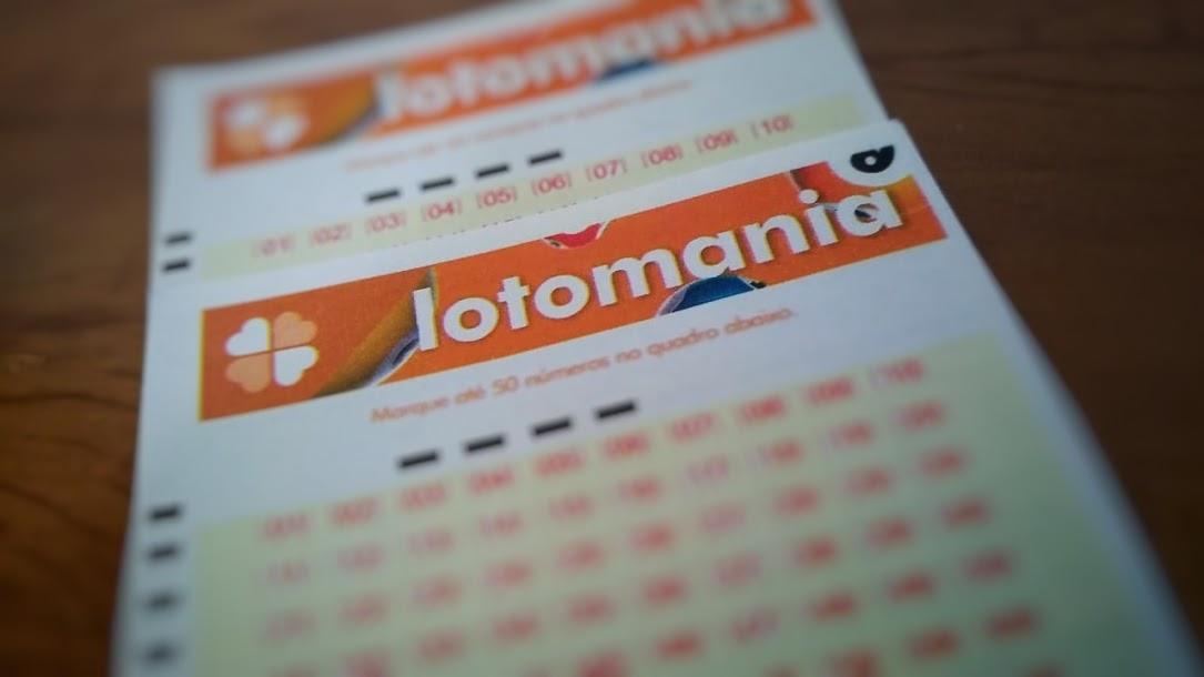 Lotomania 2143 - A imagem mostra um volante da Lotomania