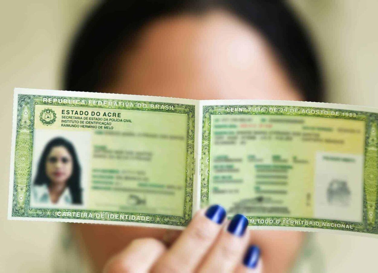 documentos pessoais; validade do rg