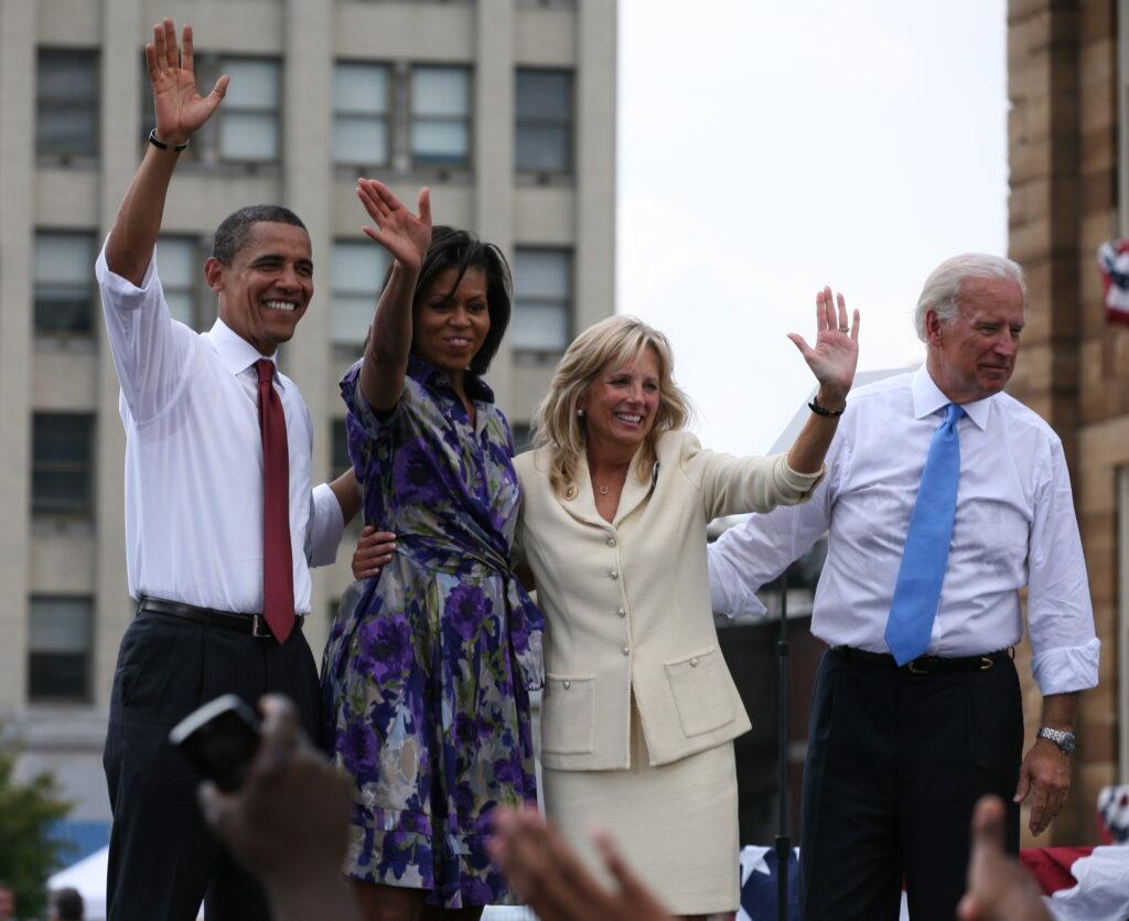 obamas e bidens eleições 2008 nos eua