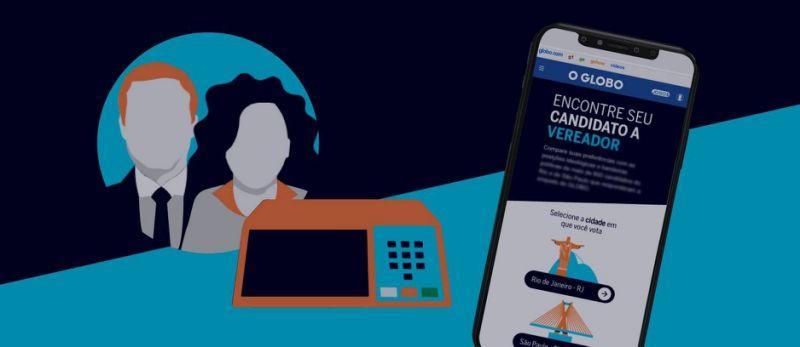eleições 2020 tecnologia o GLobo