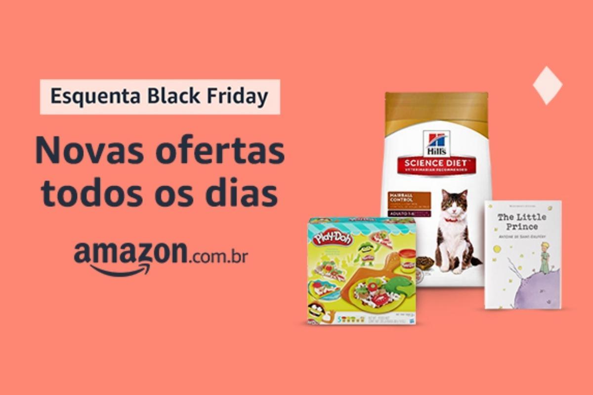 Amazon libera descontos antecipados em Esquenta Black Friday