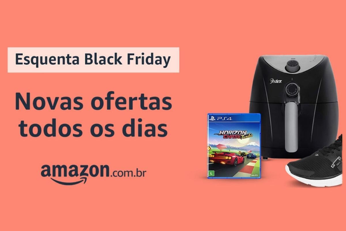 Esquenta Black Friday da Amazon