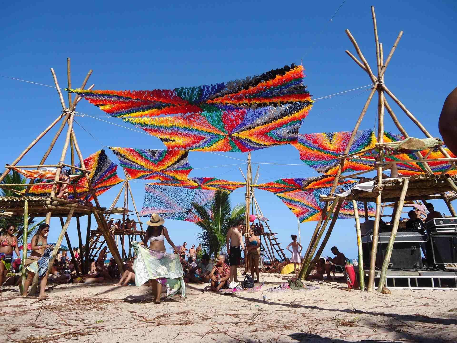 Festival nas praias de salvador