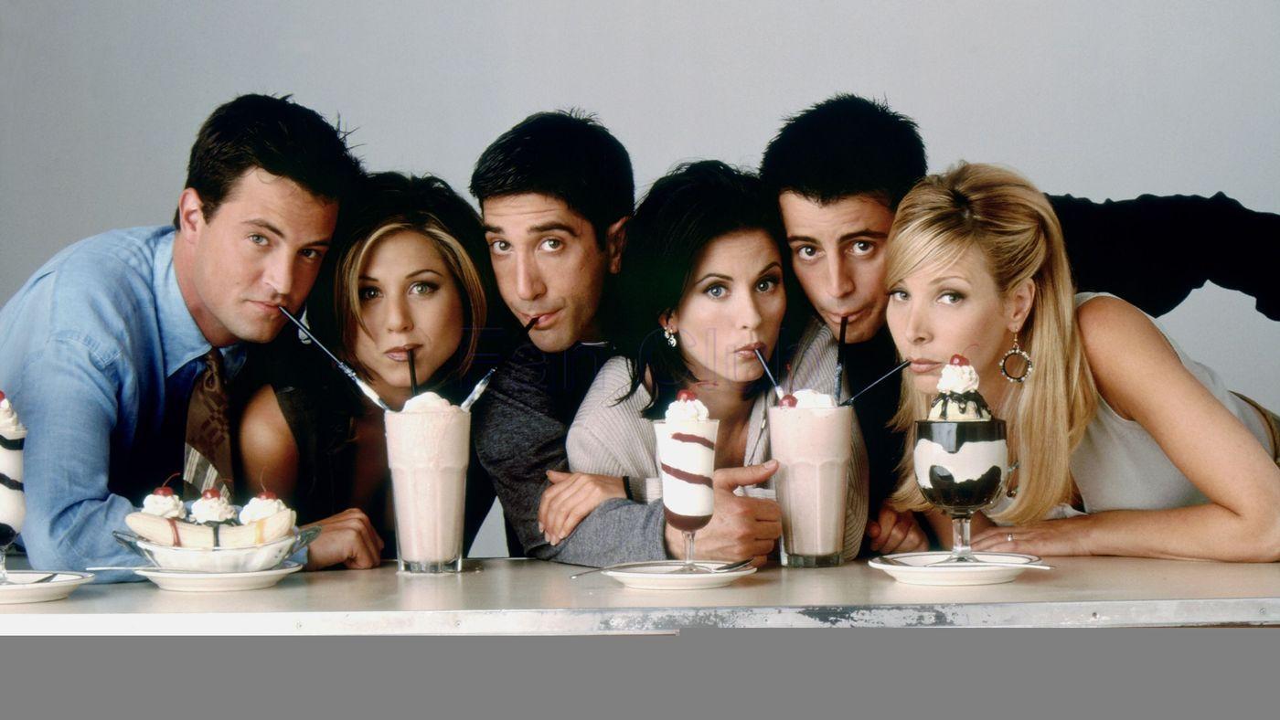 """reunião de """"Friends"""" - Friends na netflix"""