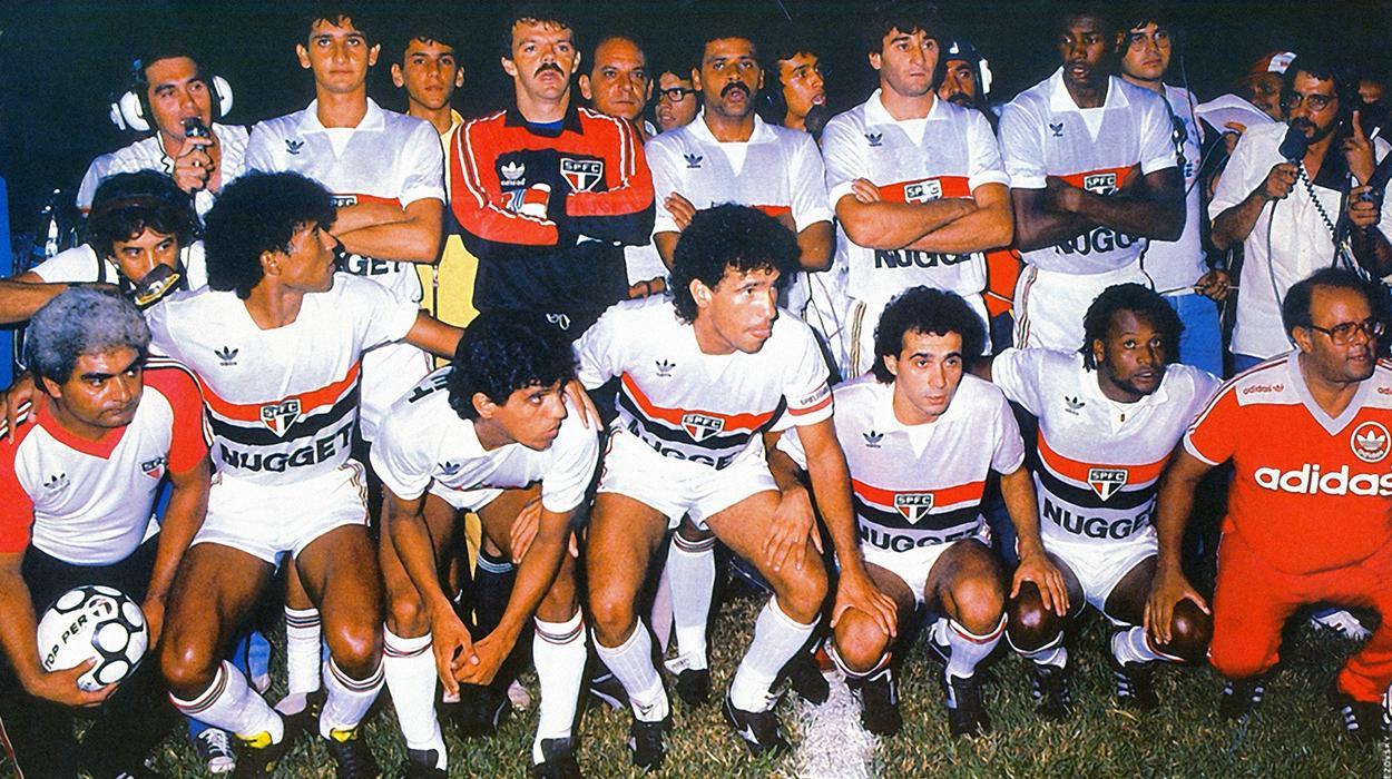 São Paulo campeão do Brasileirão de 1986