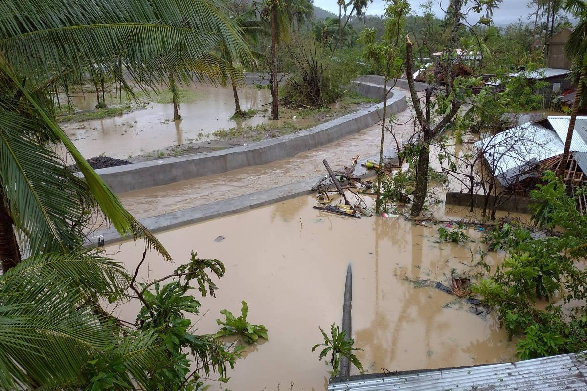 tufão Goni