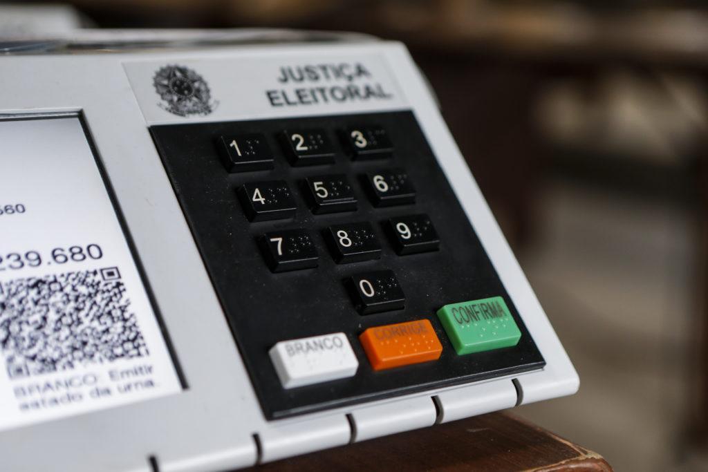 Imagem da urna eletrônica