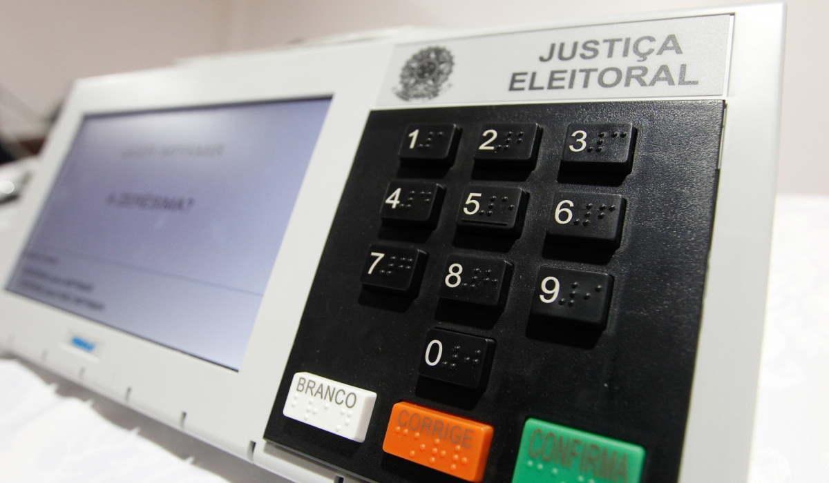 Urna eletrônica utilizada nas eleições brasileiras