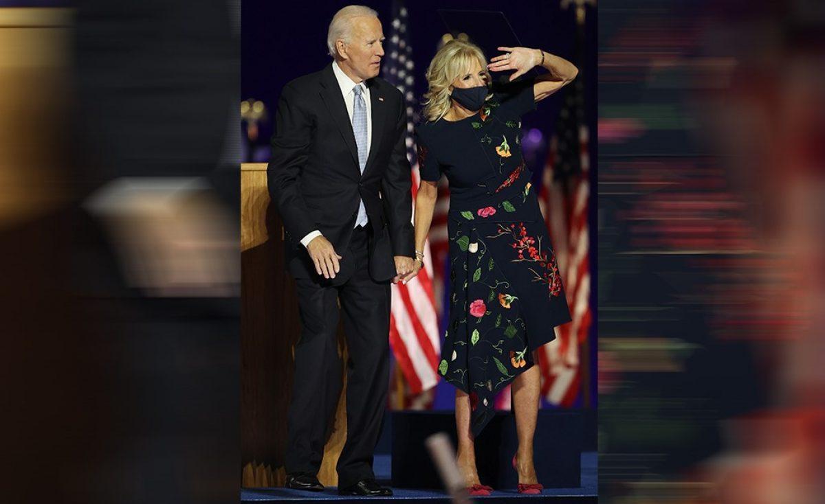 vestido de Jill Biden