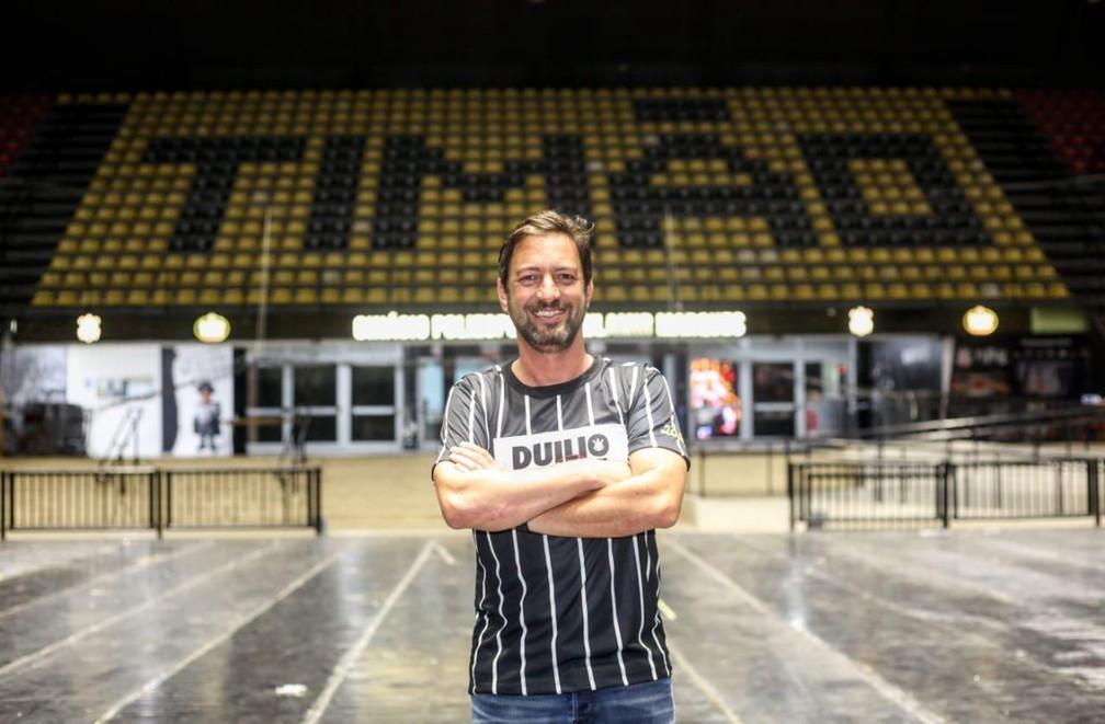 Duílio Monteiro Alves assume o clube dia 4 de janeiro