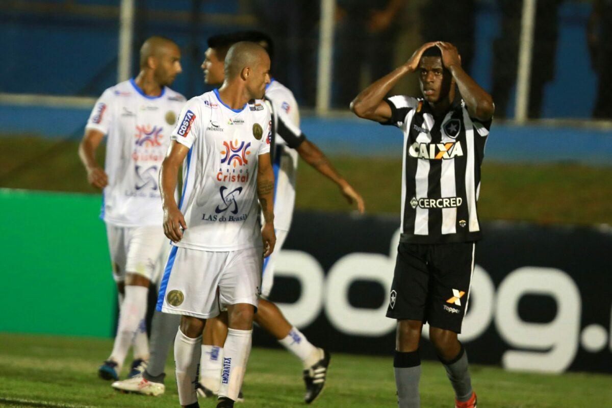 Botafogo corre sérios riscos de jogar a Série B novamente