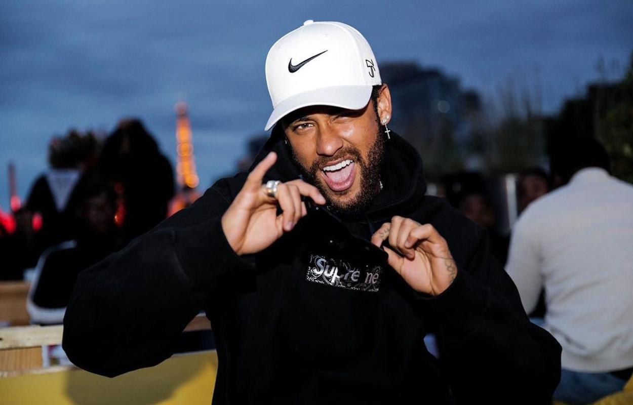 Neymar em festa