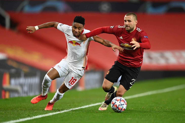 RB Leipzig x Manchester United