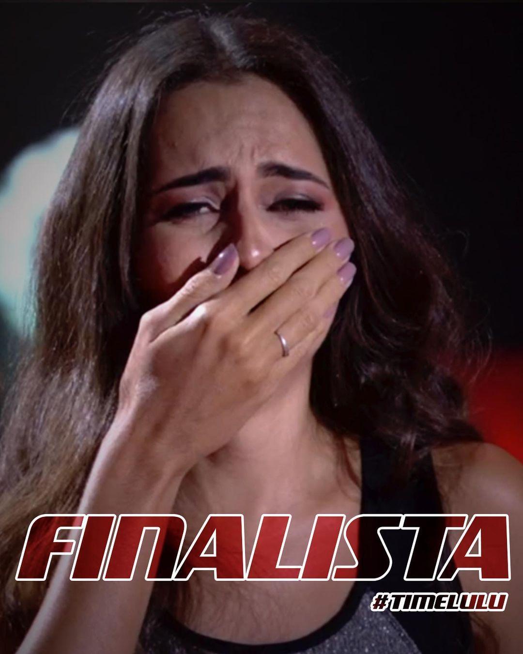 Imagem mostra Ana Canhoto, finalista do The Voice Brasil