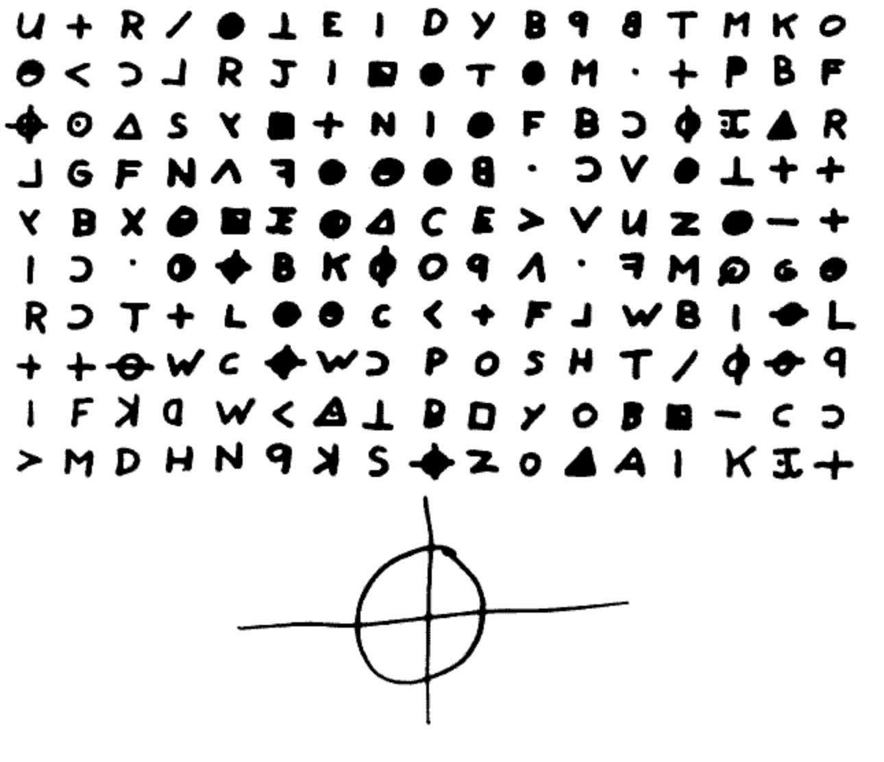 Carta do assassino do zodíaco