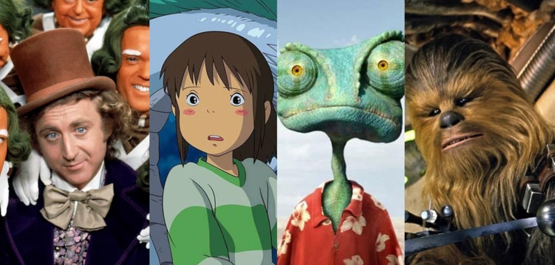 20 filmes para ver com toda a família