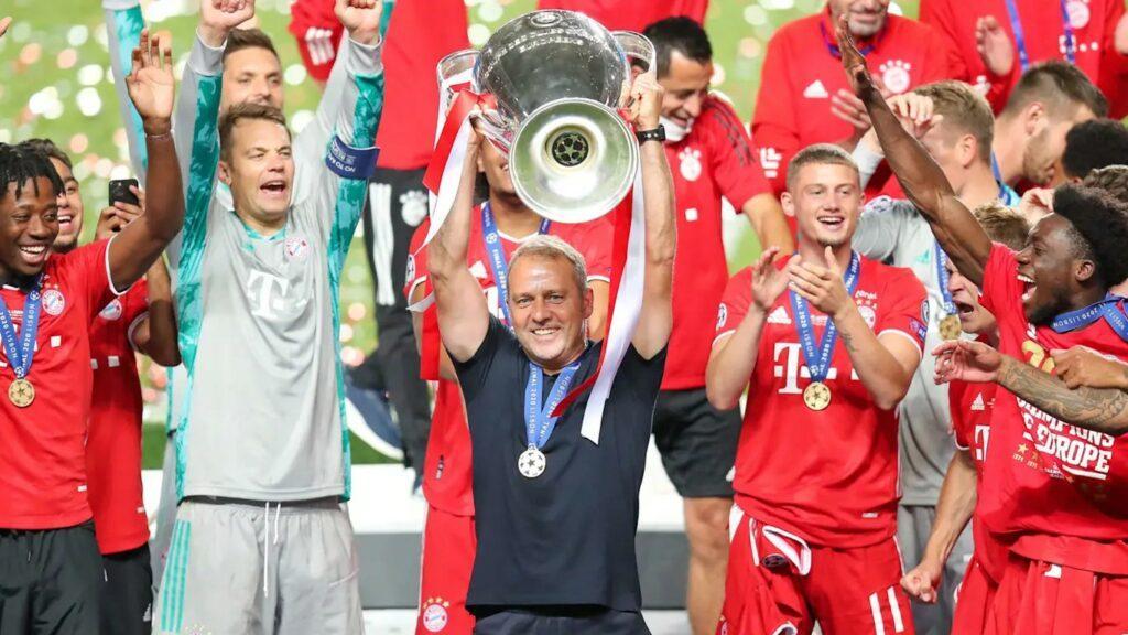 Hansi Flick Bayern de Munique