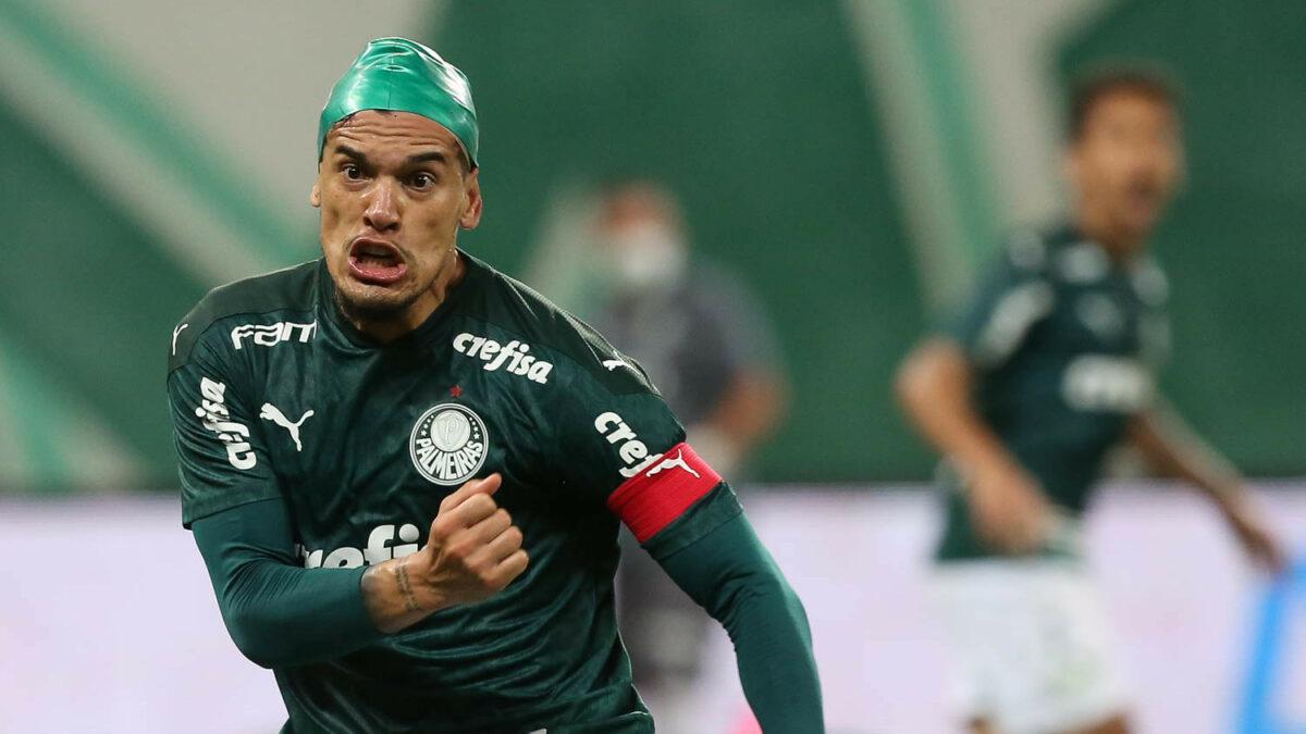 Gustavo Gómez empata o confronto para o Palmeiras