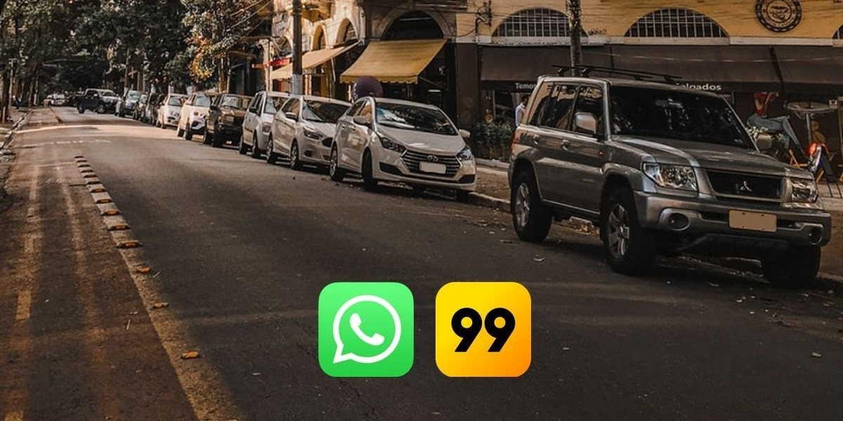 Pedir 99 pelo whatsapp, agora é possível