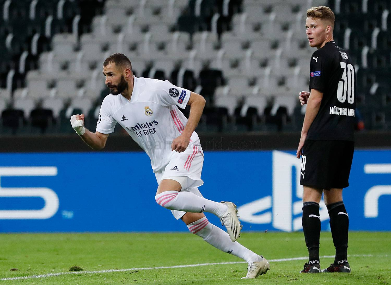 Real Madrid x Borussia Mönchengladbach