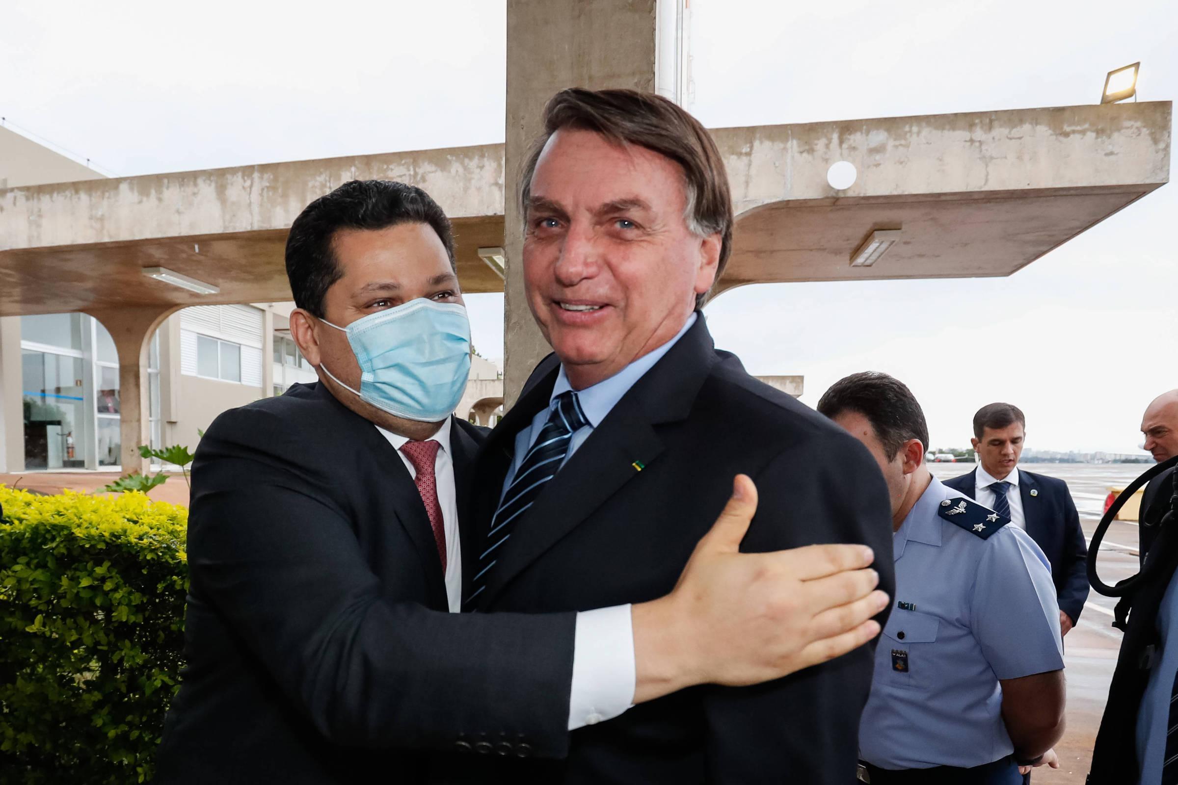 Bolsonaro e Alcolumbre