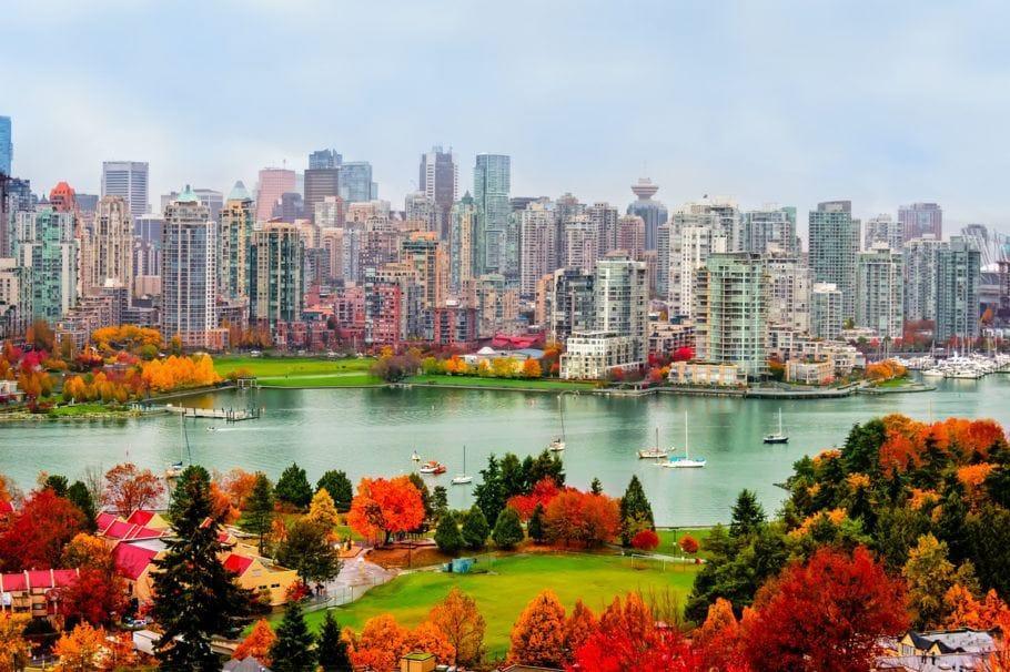 paisagem no Canadá