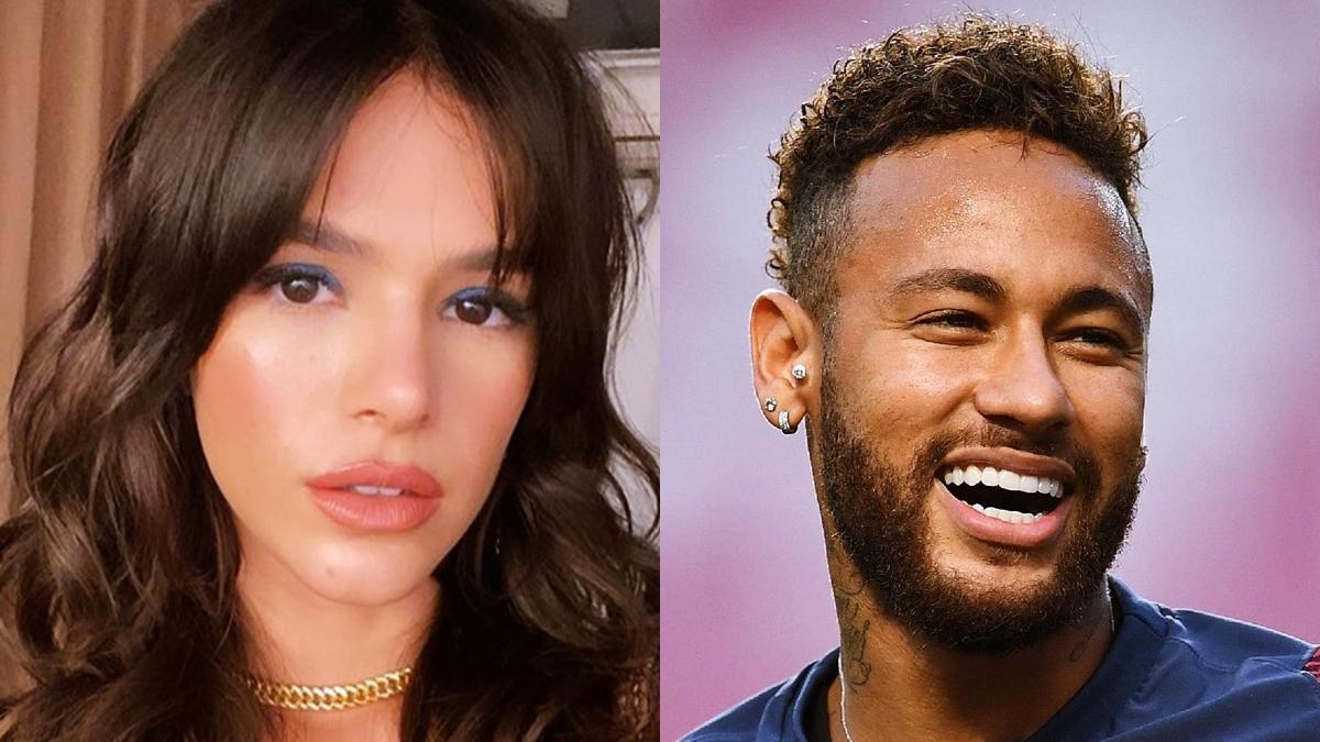 Na imagem Bruna Marquezine e Neymar