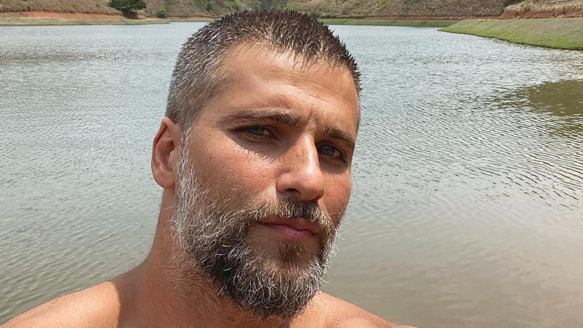 Na imagem o ator Bruno Gagliasso