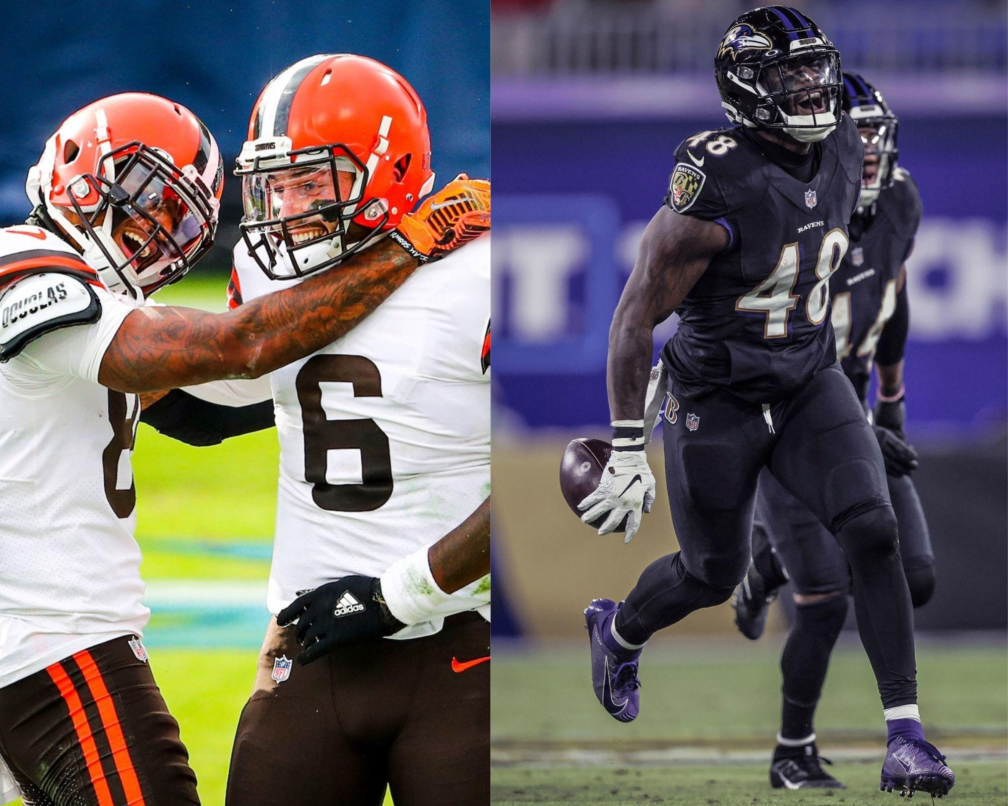 Browns x Ravens