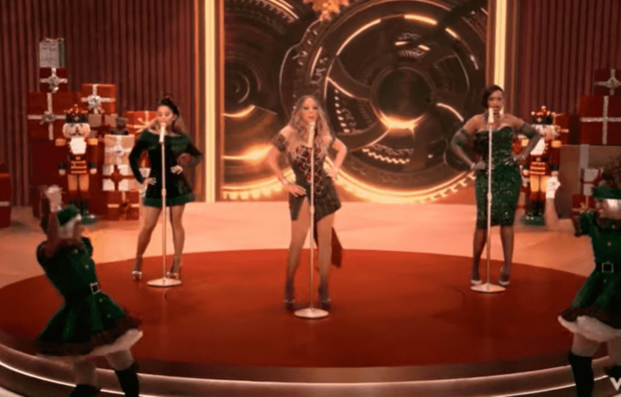 Imagem mostra clipe de Mariah Carey